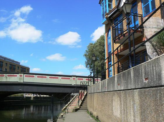 View of Brentford Bridge from the south side