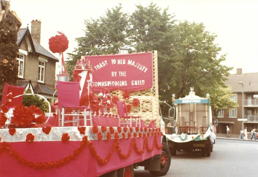 Townswomens Guild float
