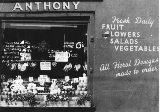 Greengrocer's shop exterior