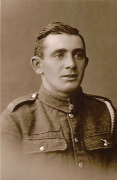Albert Callow in WW1 uniform