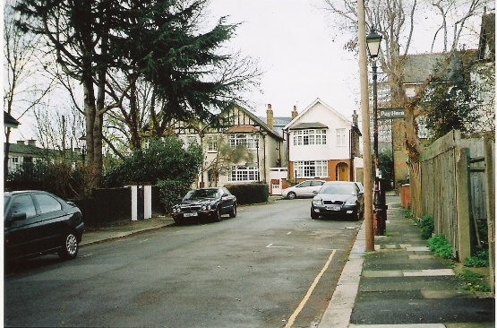 2011 view along Brent Road