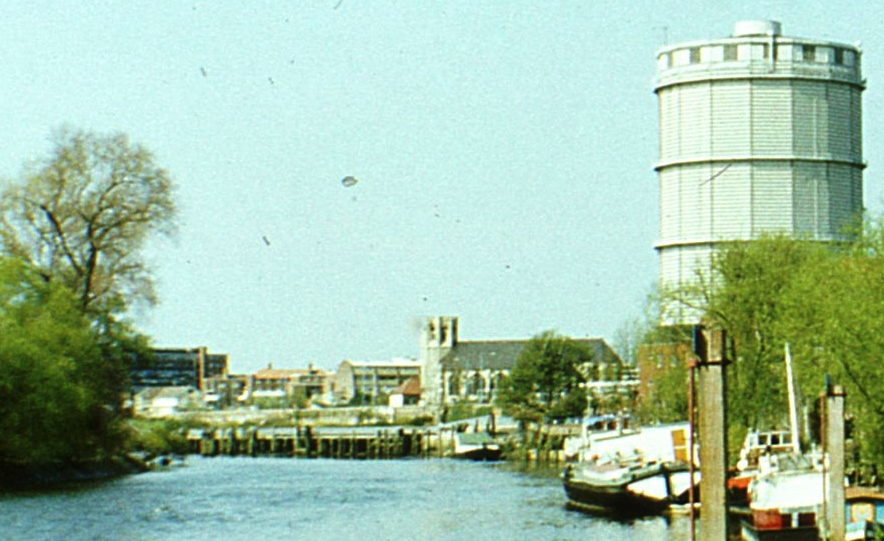 Enlargement showing Brentford riverside