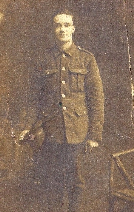 William Wheeler in WW1 uniform