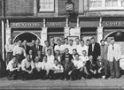Group outside the Bricklayers Arms
