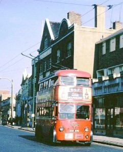 Trolley bus, High Street